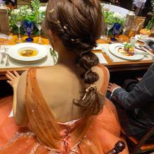 金箔紐アレンジ