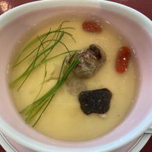 トリュフ茶碗むしが特に絶品です。