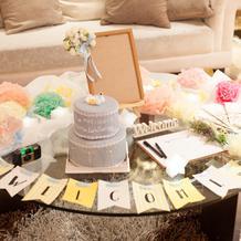 結婚式当日キッズスペースのコーディネート