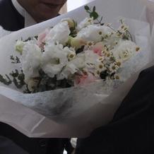 両親への花束