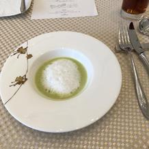 試食会スープ