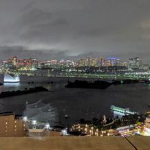 29階からのお台場の夜景