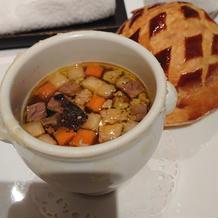 トリュフのスープ②