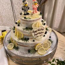 千葉ロッテレモンケーキ