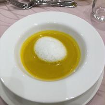 かぼちゃの冷製スープ、甘くて美味しい