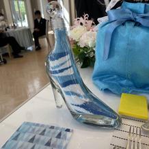 サンドセレモニー用ガラスの靴ボトル