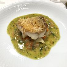 鱗も食べれる魚料理