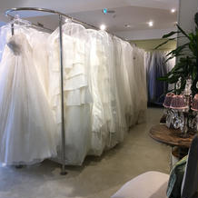 【衣装試着室】ドレスが沢山!