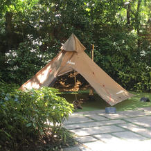 新郎新婦のアイテム テント
