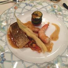 本番 お魚料理
