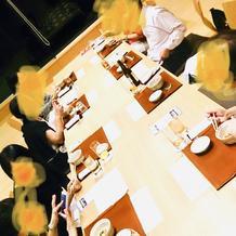 ホテル内の和食さん個室 前日