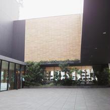 中庭スペース(吹き抜け)