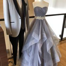 展示してあるドレスがとても可愛かったです