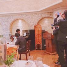 ピアノ演奏は気持ち良く素敵な時間