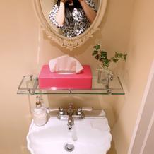 ブライズルームのトイレがものすごい可愛い