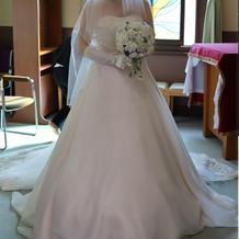 結婚式での衣装