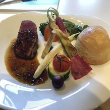 牛フィレ肉がとても美味しかったです。
