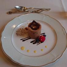 デザート、チョコレートムース