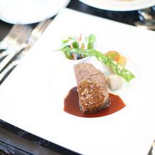 国産牛フィレ肉のロースト