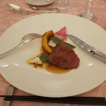ランクを上げて牛肉にしました。
