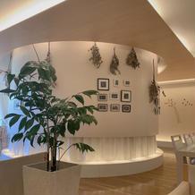 ホワイトな壁はどんな装飾も似合います