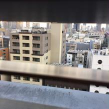 別館高層ブライダルルームからの景色