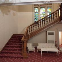 階段もフォトスポットです