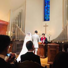 落ち着きのある教会で雰囲気が良かった