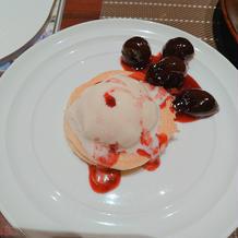 シェフサプライズのパンケーキ