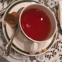 香りの良い紅茶。