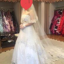 運命のドレスに出会えました★