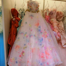 一番惹かれたドレス!めっちゃ可愛いです!
