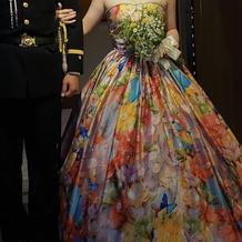 蜷川実花さんのドレス他に3種類ぐらいある