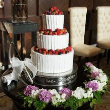 ケーキ周りの雰囲気