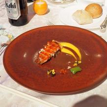一番おいしかった料理。オマールエビ。