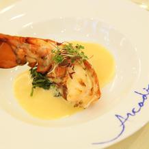 オマール海老美味しかったです。