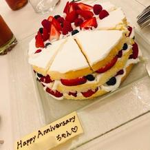 5000円のサプライズケーキ