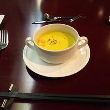 試食のスープ