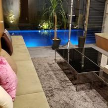 新婦親族の待ち合い室