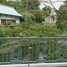 滝のある庭園がウリです。