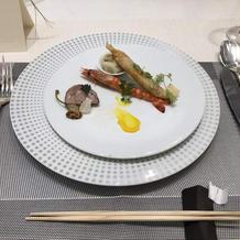 コース料理前菜です。