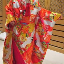 鶴の柄がとても映えて素敵でした!