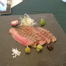 洋食のお肉