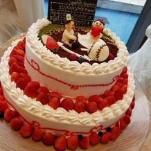 めちゃくちゃ可愛いケーキでした