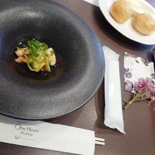 おしゃれ。広島をイメージしたお料理