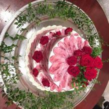 可愛いケーキでした