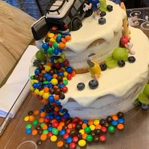 オリジナルケーキ!好きなもの乗せまくり