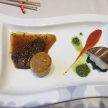 お肉とお魚