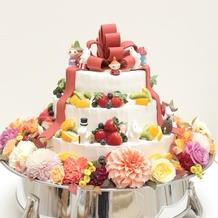 ケーキも甘さ控え目で美味しかったです。