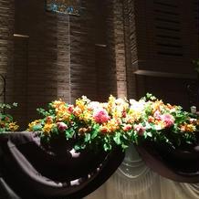 メイン装花例